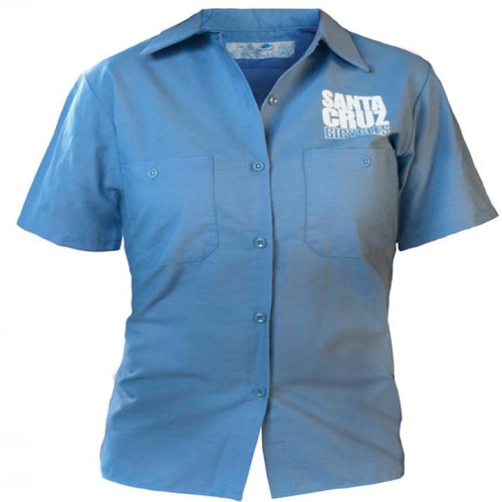 S-Man/Circle Mechanic Shirt womens
