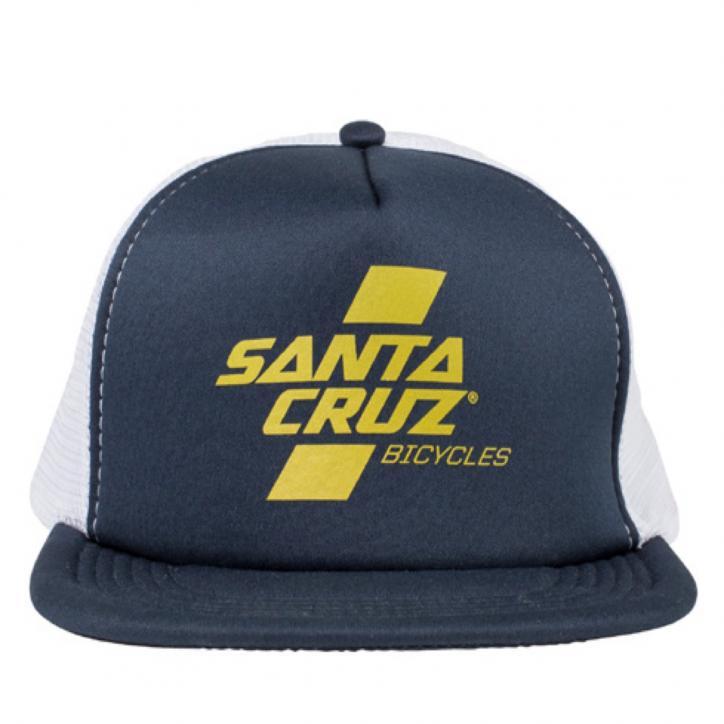 Parallel Trucker Hat Navy/Gold